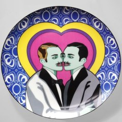 adam-and-steve-burnt-offerings-plate for bold rooms