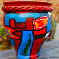 chris-todd-garden-art-ideas-potlook-painted-terracotta-pot-funk