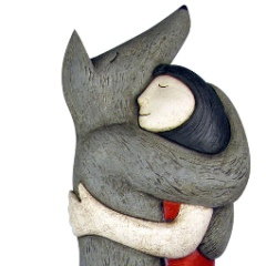Paul Smith ceramics wolf hug